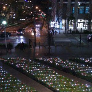 クイーンズスクエア横浜 イルミネーション