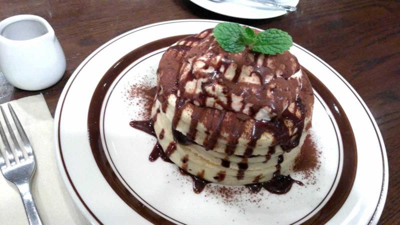 ティラミスショコラパンケーキ