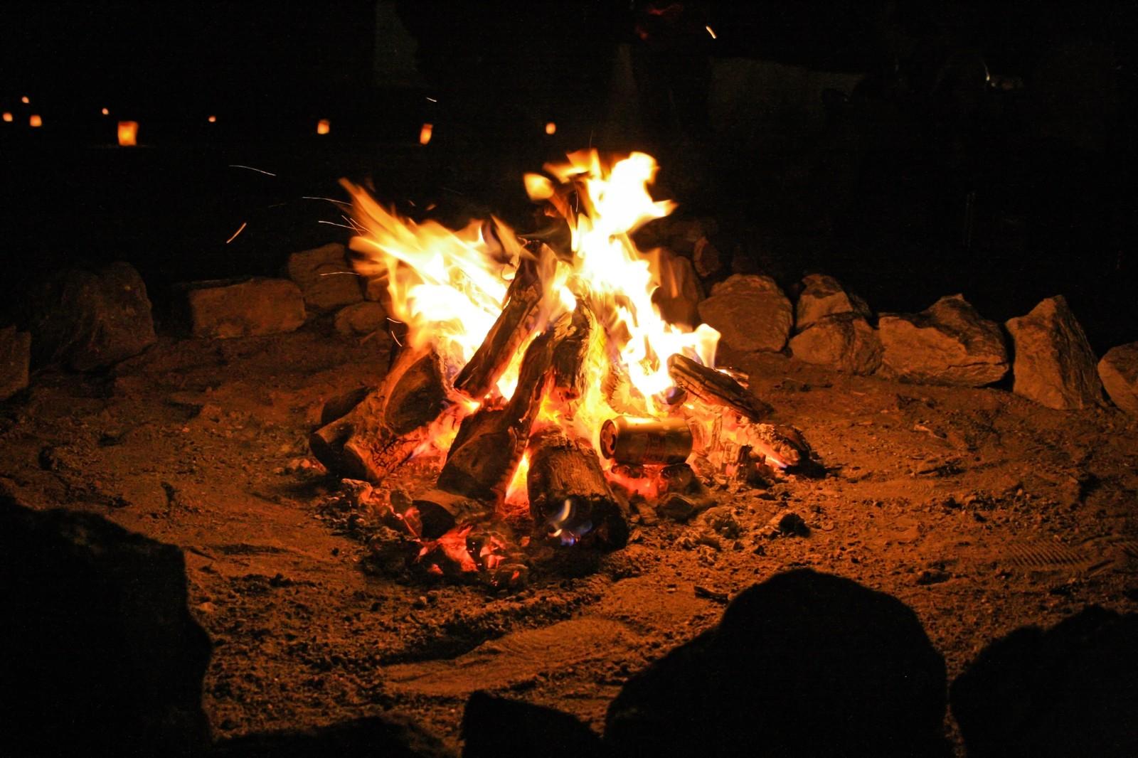 暖まる誰かが炎上するの見て お題「炎上」