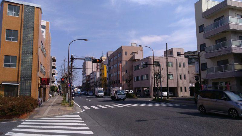 島田橋交差点