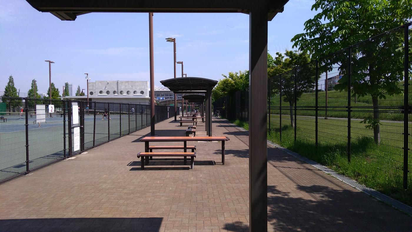 新横浜公園テニスコート