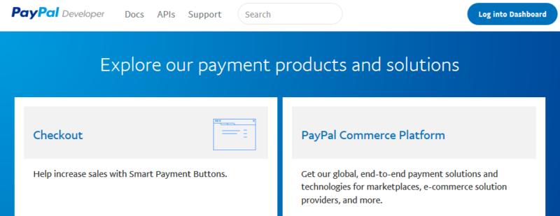 PayPal Developerにログインする